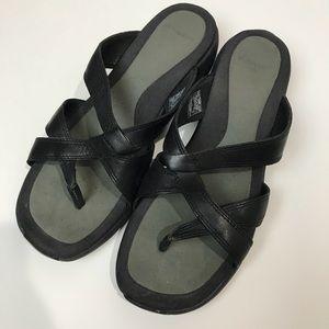 Merrell sundial Cross midnight sandals women's 9